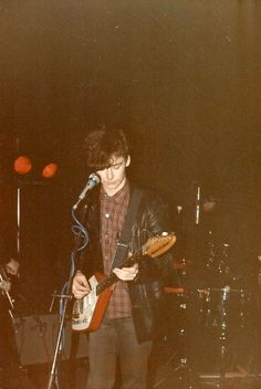 Jim Reid, 1985 {Jesus and Mary Chain}