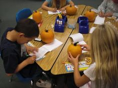 Pumpkin math ideas