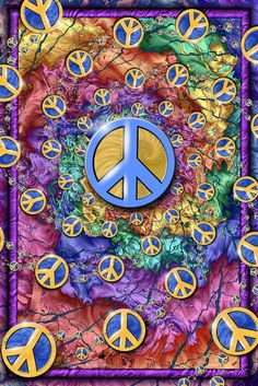 Hippie movement 60s one of the symbols quot make love not war quot is an