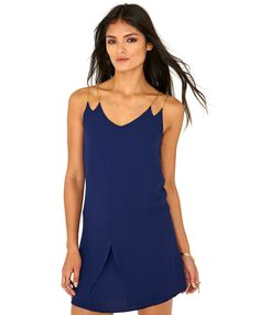 Lorelei Strappy Chain Mini Dress - Dresses - Mini Dresses - Missguided