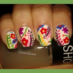 Mexican Style #nailart