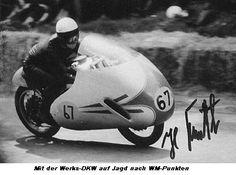 Hans Bartl, Deutschland, Rennfahrer der alten Garde DKW
