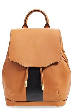 rag & bone 'Mini Pilot' Leather Backpack
