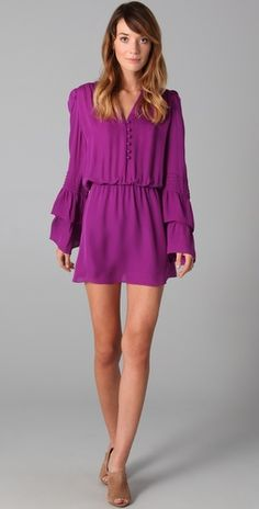 Amaze balls dress for all seasons. Pair with black opaque tights and heels or boots for Fall...i love you.