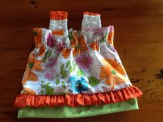 Top made from scraps