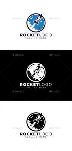 Rocket Logo - Objects Logo Templates Logo Design Template, Logo Templates, Rockets Logo, Portfolio Logo, Best Logo Design, Cool Logo, Objects, Best Logo