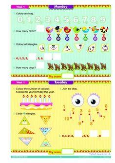 Mental Maths Workbook Sample Year 1 - Australian Curriculum Aligned. Free 16 page printable sample.