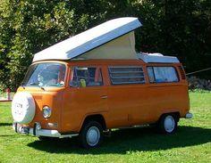 1972 orange vw bug convertible