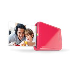 Print photos straight from your smartphone with this Polaroid Zip Photo Printer. Works with 2x3 Zink Film in full color for bright and fun sticky-back prints you can share with your friends - peel and stick your photo stickers wherever! Just download the Polaroid Zip app to edit and personalize photos with emojis, drawings, and more before printing with the simple push of a button. You can even share secret messages with your pics through personalised QR codes that only certain people can…