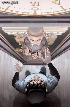 Locke and Key, Clockworks 4     art by Gabriel Rodriguez   written by Joe Hill      http://www.idwpublishing.com/lockekey/