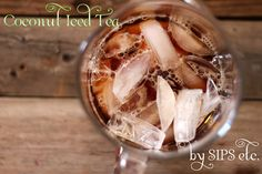 sips etc.: summer's best drink- coconut iced tea