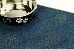 Dog Placemat Choose Your Size Waterproof Pet Placemat Cat