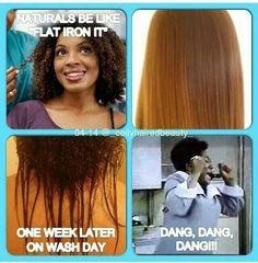 Hair Styles, Black Hair, Black People, Black Woman Hair, Natural Hair, 4B C Natural, Plain. Natural hair and Heat Damage.