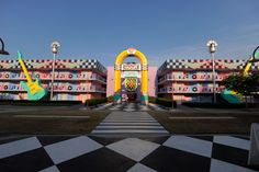 Disney Resort Hotels, Disney's All-Star Music Resort - Rock Inn, Walt Disney World Resort