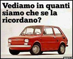 Fiat 500, Nostalgia, Memories, Humor, Retro, Link, Vintage, Culture, Memoirs