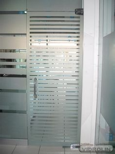 porta de vidro jateado de abrir - Pesquisa Google