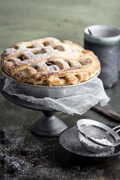 Blaubeer-Apfel-Pie http://klitzeklein.wordpress.com