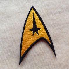 Star Trek ciencia Logo hierro en remiendo por PatchForestShop