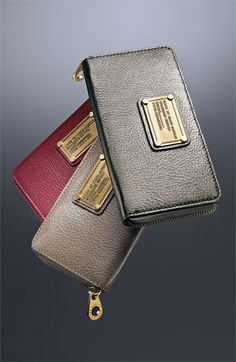 Love this Marc by March Jacob wallet in Pewter