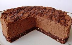 Čokoládový dort bez pečení | NejRecept.cz