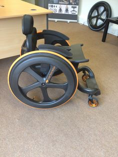 Matte finish on Carbon Balck Manual Wheelchair, Sports Wheelchair, Robotic Prosthetics, Bicycle Cart, Handicap Accessible Home, Wheelchair Accessories, Adaptive Equipment, Elderly Home, New Inventions