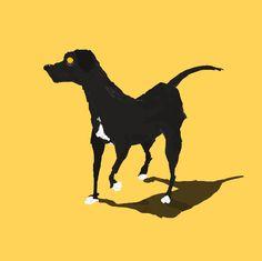"Consulta mi proyecto @Behance: ""¿cómo dibujar un perro negro?"" https://www.behance.net/gallery/45915195/como-dibujar-un-perro-negro"