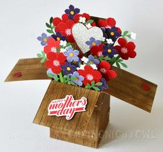 SUO - Flowers in a Box by 1stampingnightowl - Cards and Paper Crafts at Splitcoaststampers