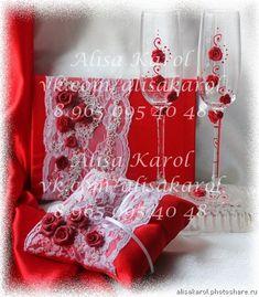 Авторские свадебные аксессуары. Свадебные аксессуары красные (Свадьбы)