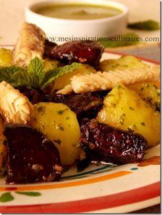 Salsa Verde, Harira, Verde Sauce, Steak, Food, Salads, Oven Roasted Beets, Oven Cooking, Essen