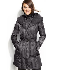 Vince Camuto Down Coat - Poohbear just got it for me today. Color me happy!!