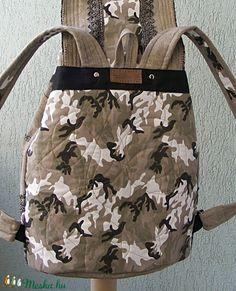 Nagy méretű csipkés hátizsák  újrahasznosított farmerből (Lintu) - Meska.hu Lany, Diaper Bag, Fashion, Moda, Fashion Styles, Diaper Bags, Mothers Bag, Fashion Illustrations