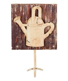Another great find on #zulily! Water Can Wall Hook #zulilyfinds