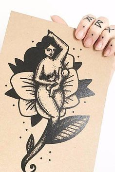 Illustrations Depict Breastfeeding Moms as Pinup Girls — and It's F*cking Liberating - Modern Pin Up Girl Tattoo, Pin Up Tattoos, Mom Tattoos, Sleeve Tattoos, Skull Tattoos, Tatoos, Dragon Tattoo Back Piece, Back Tattoo, I Tattoo
