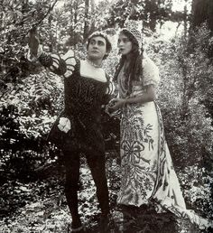 Owen Moore and Mary Pickford in Cinderella, 1914