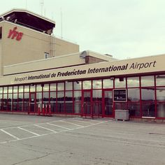 Fredericton International Airport (YFC) in Fredericton, NB