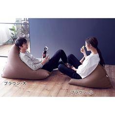 ビーズクッション Bean Bag Chair, Furniture, Home Decor, Homemade Home Decor, Home Furnishings, Interior Design, Home Interiors, Decoration Home, Beanbag Chair