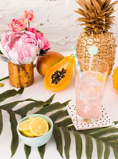 throw together a soiree as soon as tonight with these amazing tropical party tips