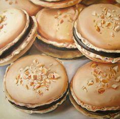 Peanut Butter Chocolate Macarons | Sarah E. Wain