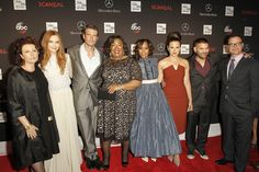 Some of the Scandal Cast for season 3!