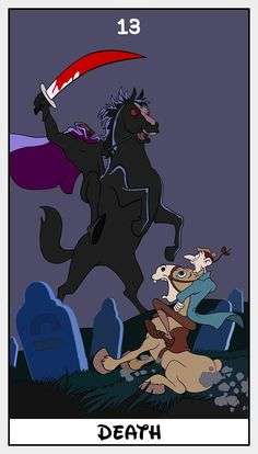 Disney Tarot - Death