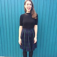 We don't mean to be total fangirls but this is the second time we've featured on our feed this week. We make no apologies, because THAT Lizzie Skirt! Skirt Sewing, Skirt Patterns Sewing, How To Apologize, Skater Skirt, Fangirl, Two By Two, Tulle, Couture, Skirts