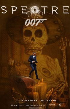 Here are some of the fantastic poster of upcoming installment of James Bond franchise SPECTRE featuring Daniel Craig as Ian Fleming's spy James Bond, Monica Bellucci and Léa Seydoux as Bond girl and double Oscar winner Christoph Waltz as Franz. Best James Bond Movies, James Bond Movie Posters, Best Bond, Spectre Movie, 007 Spectre, Fan Poster, Movie Poster Art, Film Posters, Daniel Craig James Bond