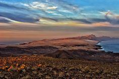 Vistas espectáculares de la peninsula de Jandia, Costa Calma y Cofete.  Foto de Tadeusz Mielech