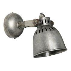 Wandleuchte VINTAGE SOLO aus Metall, H 14cm