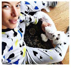 Ewa Chodakowska wearing Shabatin sweat shirt and pants!