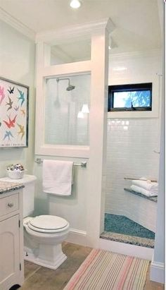 A master bathroom with a whirlpool tub, a rainfall showerhead, heated floors and his and her sinks is great for some, but oftentimes, space and budget concerns bring most of us back down to earth. We…MoreMore #RemodelingBathroomIdeas