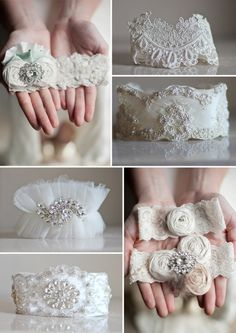 Crystal Couture Wedding Garters