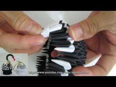 TUTORIAL - 3D Origami Baby Swan