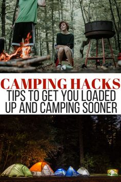 There are a ton of camping hacks out there that can make camping happen quickly and more efficiently. Check out my list of hacks to camp sooner. Diy Camping, Camping Hacks, Camping Checklist, Camping Activities, Camping With Kids, Tent Camping, Camping Gear, Backpacking, Camping Storage