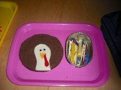 Pin the feathers on the turkey! - Re-pinned by #PediaStaff.  Visit http://ht.ly/63sNt for all our pediatric therapy pins